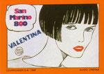 Cartolina 1/7 Valentina - Cartolinea n° 179