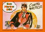 Cartolina 1/8 Corto Maltese - Cartolinea n° 180