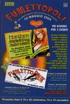 """Cartolina invito """"XXVIII Fumettopoli"""" 10 Maggio 2009"""