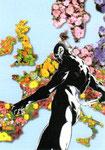 Cartolina Cervia città giardino 2 (2017)