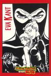 """Cartolina Cartoon Club """"Eva Kant""""  30 Giugno - 30 Luglio 2003"""