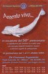 """Cartolina invito """"XIX Fumettopoli"""" 2 e 3 Dicembre 2006 retro"""