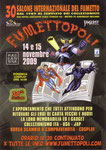 Cartolina invito XXX Fumettopoli 14-15 Novembre 2009