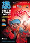 "Cartolina ""Torino Comics"" Aprile 2002"