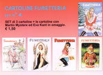 Cartolina Fumetteria set n° 4