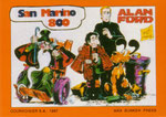 Cartolina 1/10 Alan Ford - Cartolinea n° 182