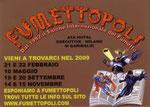 """Biglietto da visita """"Fumettopoli"""" 2° versione"""