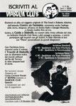 "Cartolina ""Iscriviti al Diabolik Club 2015"