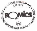Annullo del 1 Ottobre 2015 Poste Italiane Roma Commercity