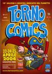 "Cartolina ""Torino Comics"" Aprile 2004"