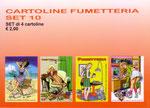 Cartolina Fumetteria set n° 10