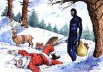 """Cartolina """"Natale"""" (non autorizzata)"""