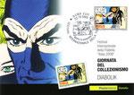 """Cartolina """"La giornata del collezionismo""""  con annullo poste italiane 23 Ottobre 2009"""