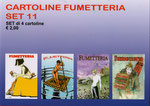 Cartolina Fumetteria set n° 11