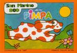 Cartolina 1/12 Pimpa - Cartolinea n° 184