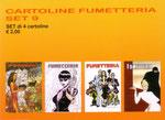 Cartolina Fumetteria set n° 9