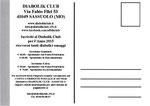 "Cartolina ""Iscriviti al Diabolik Club 2015 retro"