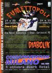 """Cartoline invito """"XXIX Fumettopoli"""" 19 e 20 Settembre 2009"""