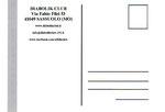 "Cartolina ""Pranzo assemblea Diabolik Club"" Poirino 22 Ottobre 2017 versione 1 retro"