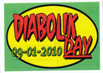 "Cartolina ""Diabolik Day"" 09/01/ 2010"