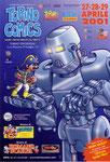 "Cartolina "" Torino Comics"" 27-28 e 29 Aprile 2001"