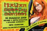 """Cartolina invito """"XXVIII Fumettopoli"""" 10 Maggio 2009 retro"""