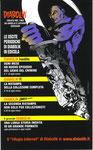 """Cartolina invito """"Comiconvention"""" Milano 2009 retro"""