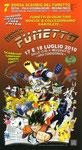 """Cartolina invito """"7° Borsa scambio  del fumetto"""" Ostia 17-18 Luglio 2010"""