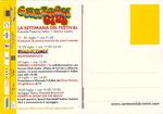 """Cartolina """"Riminicomix"""" 18-19-20 Luglio 2003 retro"""