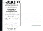 "Cartolina ""Iscriviti al Diabolik Club"" 2014 retro"