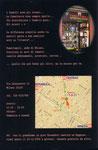 """Cartolina invito """"XIII Fumettopoli"""" 25 e 26 Febbraio 2005 retro"""