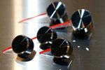 NC2/NC3ロードスター用クラシックニードルキャップ(ブラックアルマイト)