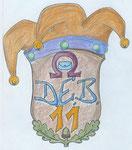 Erster Entwurf von 2001 für unser Vereinswappen von Susanne Ricker