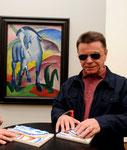 2009 im Museum Frieder Burda erste Führung für Blinde und Sehbehinderte