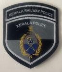 Estado de Kerala - Policia Ferroviaria