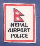 Policia del Aeropuerto de Nepal