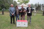 NUTELLA DEL MONTE DELLA DEA - Trofeo Miglior Testa - Raduno CIL Bagnara 13-10-2012