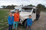 Une voiture bien restaurée ( voir des photos des voitures en Argentine sur la page carnets de voyages)