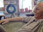 Mein alter Freund Sam Tschakalian in seinem Atelier in San Franzico, ein legendärer Lehrer, toller Künstler und Mensch