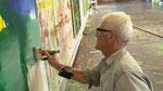 """Bernd  Zimmer """"Landschaften"""" Ein Vorbild für seinen speziellen Blick auf die Natur"""