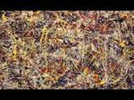 "Jackson Pollock ""drippings"""