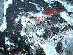 """Milchstraße,  Acryl auf Papier in 31x24  / """"Milkyway"""""""