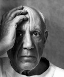 """Pablo Picasso """"Ich suche nicht, ich finde"""""""