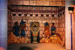 Détail Salle du Trésor du Pharaon - Metz