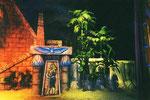 La porte d'Horus finie - Trésor du Pharaon