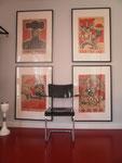Chinesische Propaganda-Poster. Verschiedene Varianten erhältlich.