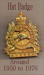 Hat Badge 1950-1976