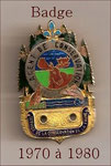 Wallet Badge 1970-1980