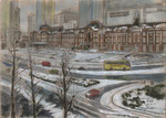 TOKYO STATION IN THE SNOW