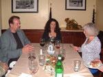 left to right: Dawson Church PhD, Silvia Binder CEO ONDAMED, Antje Kessler